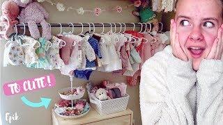 Preparing Baby Girl's Room!!