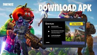 Fortnite Battle Royal for android player game