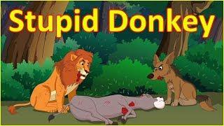 The Stupid Donkey | Panchatantra Moral Story | English Cartoon | Maha Cartoon TV English