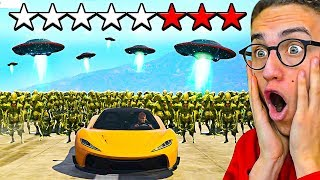 I TRIED TO ESCAPE A **8** STAR WANTED LEVEL in GTA 5!