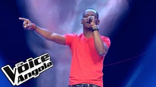 "Avelino Kussamo - ""Another Day in Paradise"" / The Voice Angola 2015: Audição Cega"