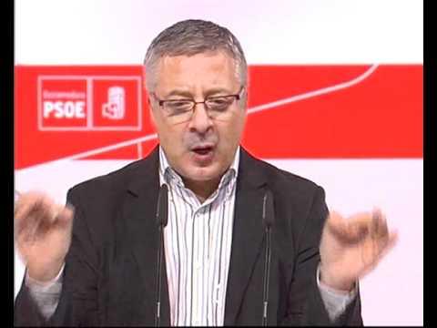 25-09-10. José Blanco en Mérida