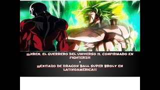 ¡JIREN CONFIRMADO EN DRAGON BALL FIGHTER Z! + ¡EXITAZO DE DRAGON BALL SUPER BROLY EN LATINOAMÉRICA!