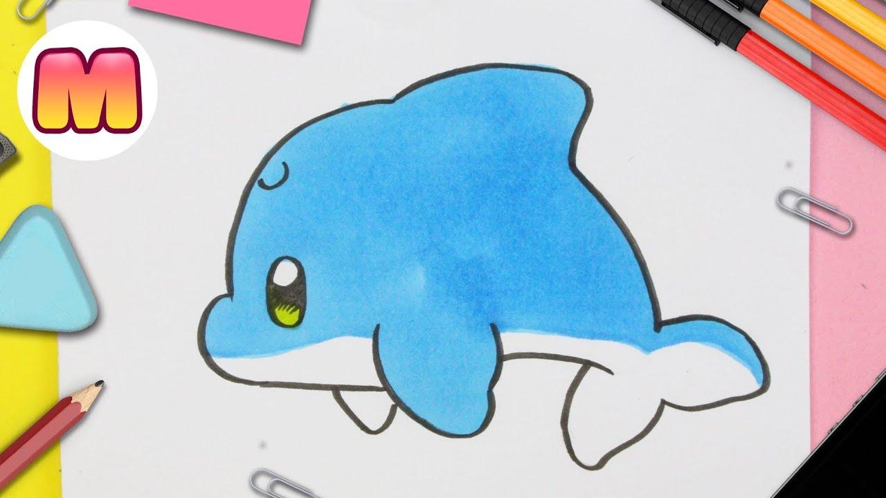 Dibujos De Animales Acuaticos Bebes Tiernos Para Colorear