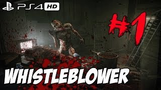 """★Lets Play: """"Outlast Whistleblower DLC"""" PS4 1080p HD Gameplay Walkthrough - Part 1 (SCARY GAME!)"""