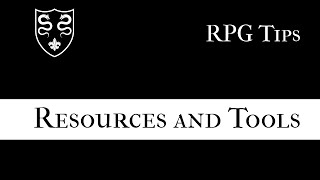 Solo RPGs: Resources and Tools