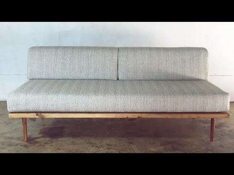 DIY Mid-Century Modern Sofa | Modern Builds | EP. 28