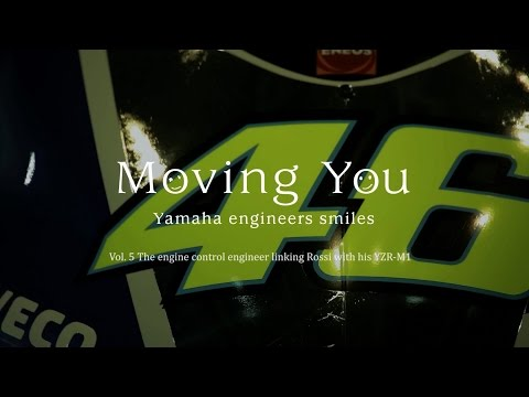 """Moving You Vol. 5 """"The engine control engineer linking Rossi with his YZR-M1"""" (English)"""