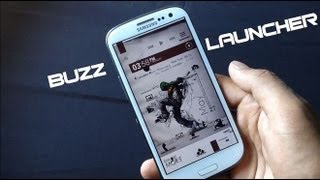 Best Android Launcher 2013: Buzz Launcher