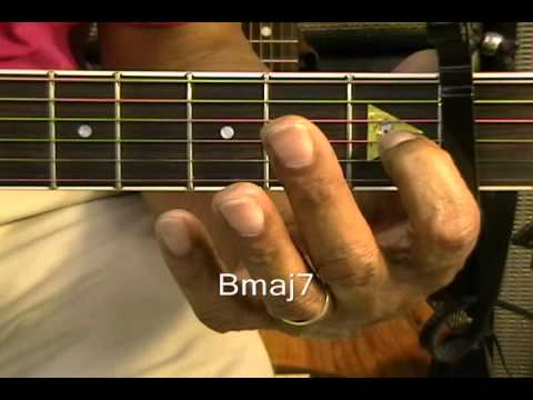 How To Play Guitar Chords Tutorial #9 Chords Chris Brown Fine China R&B TABS Lesson /Cover