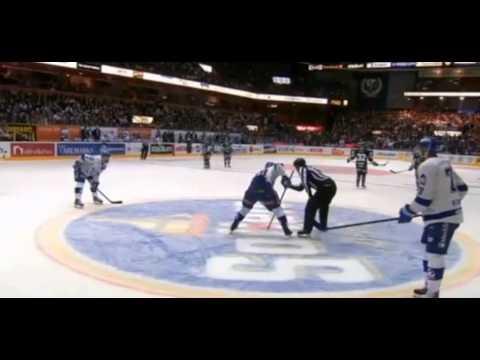 Amazing Swedish Hockey goal. Leksand – Färjestad 2014