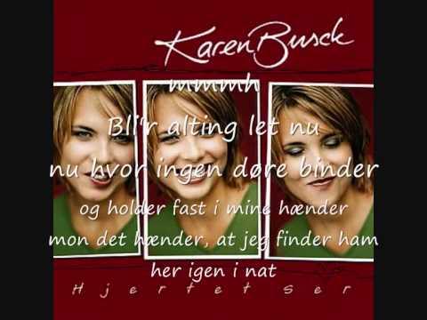 Hjertet ser - Karen Busck & Erann DD lyrik