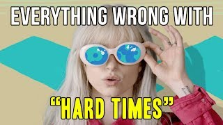 "Everything Wrong With Paramore - ""Hard Times"""