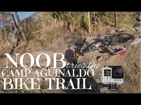 Noob tries the Camp Aguinaldo Bike Trail