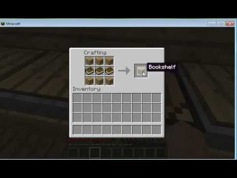 how to make a bookshelf in minecraft. How To Make A Bookshelf In Minecraft Plus Strategy Guide M
