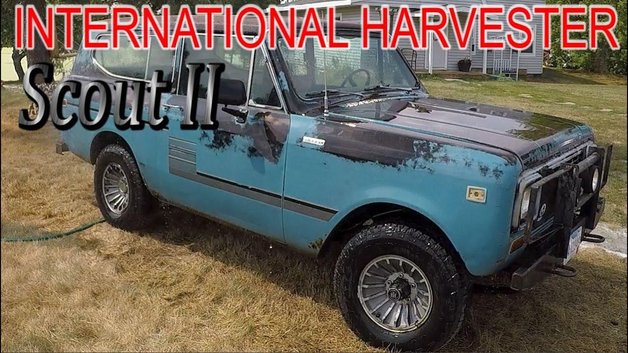 Washing & Buffing the Turbo Diesel International Scout II -  (Amazing Transformation!)