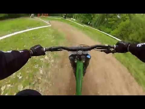Rockstar Beskidia Downhill 2014 Ustroń Palenica -