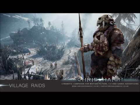 VILLAGE RAIDS - Chris Haigh | Ethnic Tribal Aggressive Cinematic World Music |