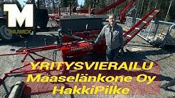 Yritysvierailu - HakkiPilke - Maaselänkone Oy
