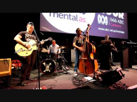 CANBERRA  ROCKABILLY BAND  , THE CROSSBONES LIVE AT NATIONAL SOUND AND FILM ARCHIVES