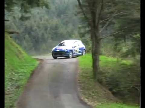 peugeot 207 rallye horror crash youtube. Black Bedroom Furniture Sets. Home Design Ideas
