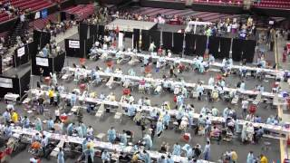 Mid-Maryland Mission of Mercy & Health Equity Festival, 9/4-9/6/2014 time lapse