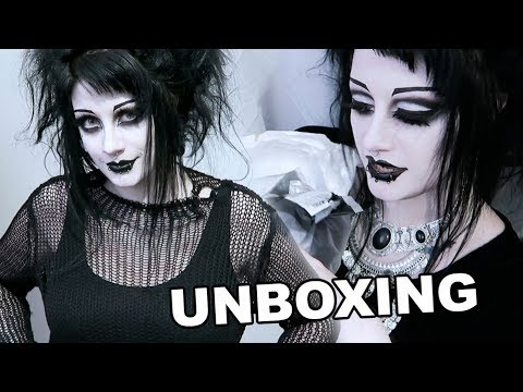 Unboxing and Try On of Punk Rave! | Black Friday