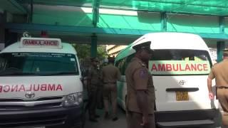 Potta Naufer in hospital