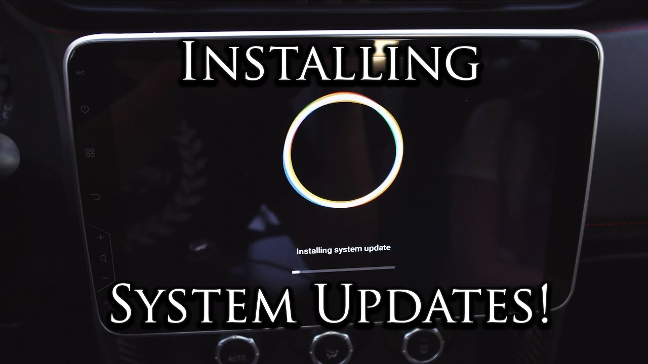 How to Update Your Android Head Unit   Firmware/Build