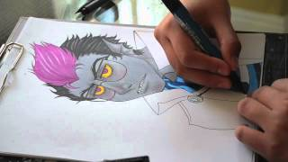 Eridan DubStep Drawing