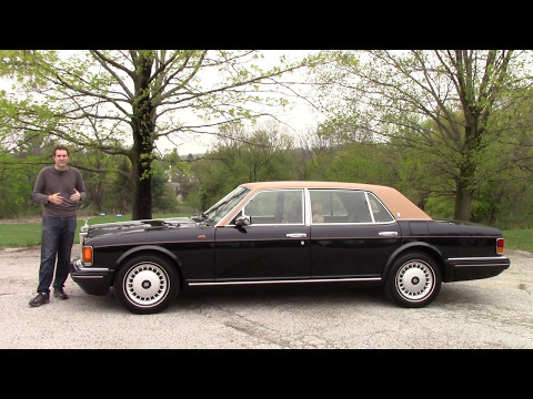 Here's What a $300,000 Rolls-Royce Was Like... in 1996