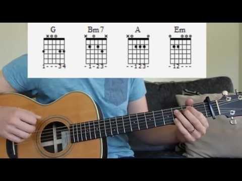 Blame - Calvin Harris Feat. John Newman Guitar Lesson
