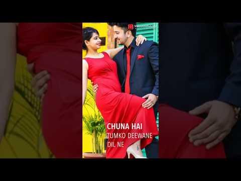 #Full_Screen_Whatsapp_Status_Video || Chuna H Tmko  Diwane Dil Ne Isse Na Tadpaao