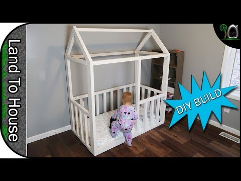 build-a-toddler-house-bed-frame