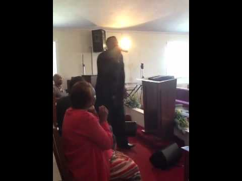 """Dr. Patrick Usher preaching """"I'm Standing On The Word of God"""""""