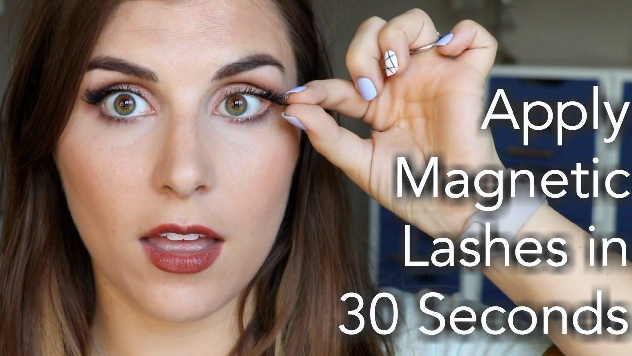 8f2b10bb020 How to Apply Magnetic Lashes for Beginners | Bailey B. - YouTube