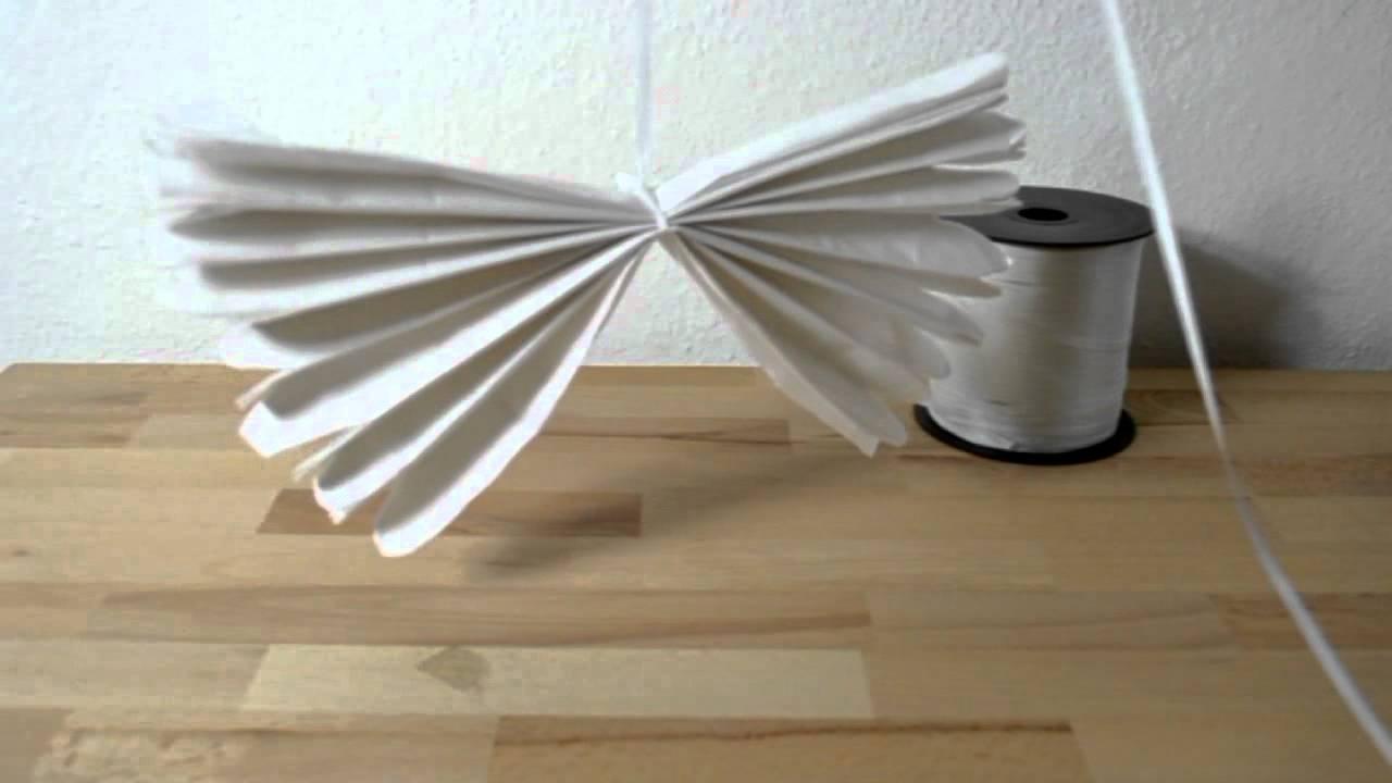 blumen aus pompons, pompons aus seidenpapier - bastelanleitung - youtube, Design ideen