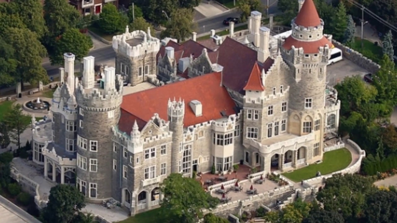 Casa loma toronto 39 s majestic castle yolcular tour youtube for Casa loma mansion toronto