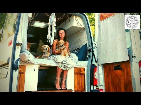 Allein als Frau zwei Jahre Vanlife - im selbstausgebauten Camper