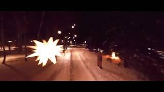 """#Быханов  #Липецк  """"Быханов сад"""" - г. Липецк """"Поздний вечер - зима""""."""