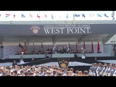 2017 West Point Graduation Presentation of Diplomas