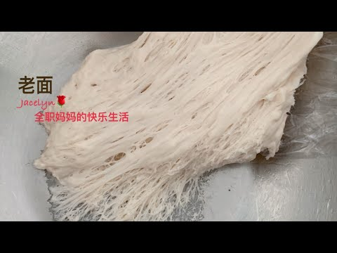 老面面种 酵头做法 Per-fermented Dough for Chinese Steam Bun