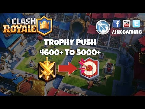 (REPLAY) Level 1 + Ladder push on main - clash royale