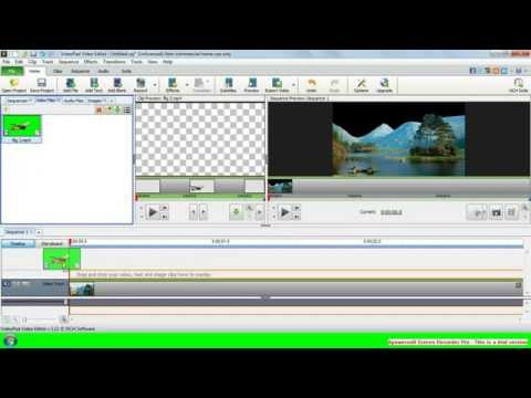 how to use a green screen sony vegas 14