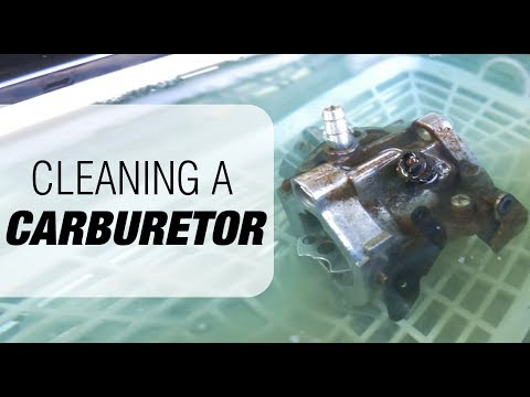Cleaning a Carburetor with an Ultrasonic Cleaner