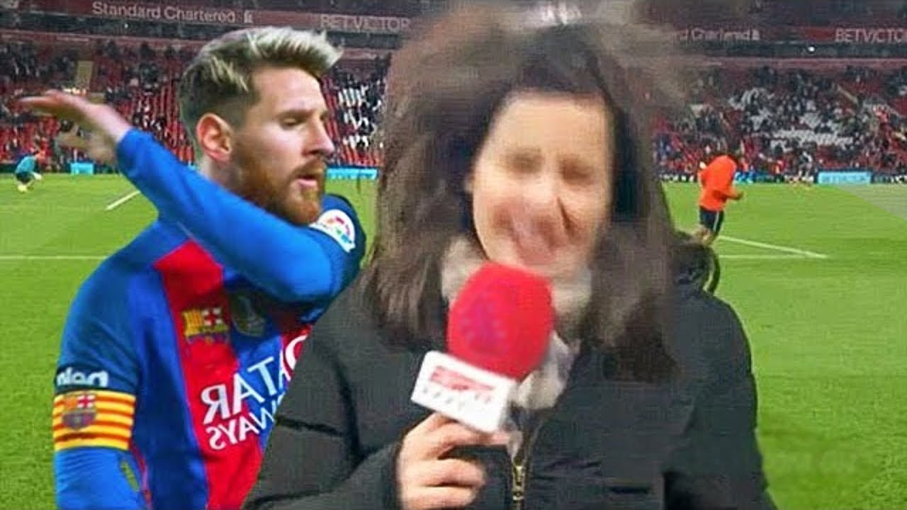 When Footballers Troll Reporters by Amazing Ways!!