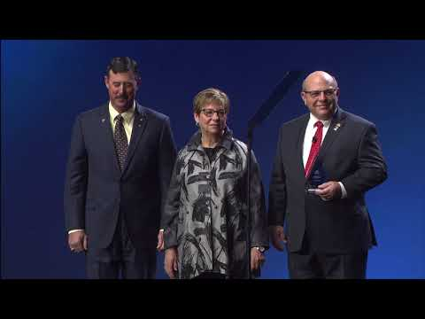 Distinguished Service and Founders Awards presentations