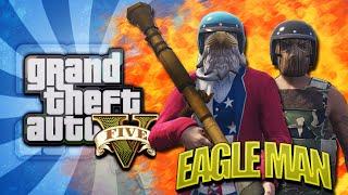 GTA 5 NEXT GEN - EAGLE MAN RETURNS | OFFICIAL MOVIE TRAILER | Whos Chaos