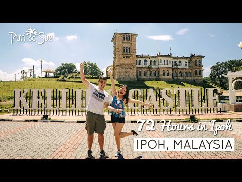 Things to do in IPOH (Part 1/2) | Food & Travel 3D2N