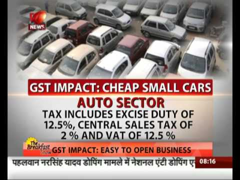 GST: Small cars are not going to cost more after July 1: Arun Jaitley